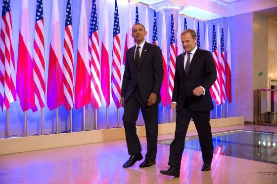 obama and tusk