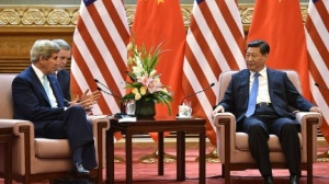 Secretary Kerry meets with Chinese President Xi Jinping on July 10.