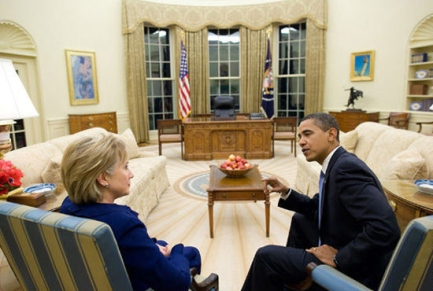 "Former Secretary of State Hillary Clinton has started attacking President Obama's ""don't do stupid stuff"" strategy."