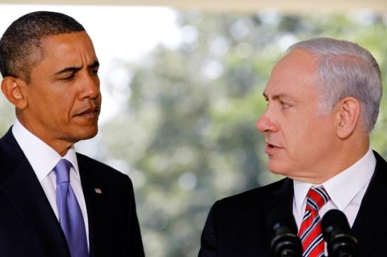 U.S. President Barack Obama with Israeli Prime Minister Benjamin Netanyahu.  (Image: Clarion Project)