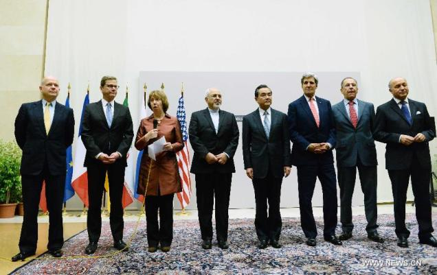 After intensive negotiations, the P5+1 group and Iran have reached a first-step agreement on Iran's nuclear program. (http://news.xinhuanet.com/)
