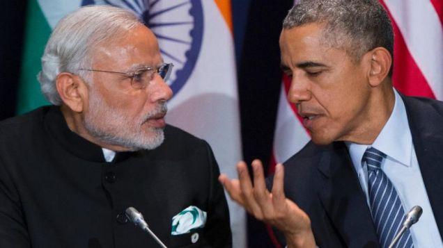 President Obama with Modi